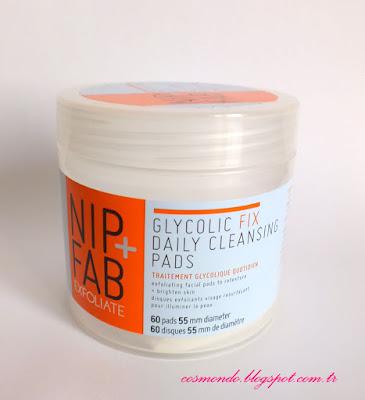 nip+fab yüz temizleme pedleri