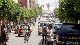 Asmara can be busy but this road is normal