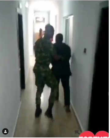 Nigerian Man Proposes To His Girlfriend Faking Soldier Assault