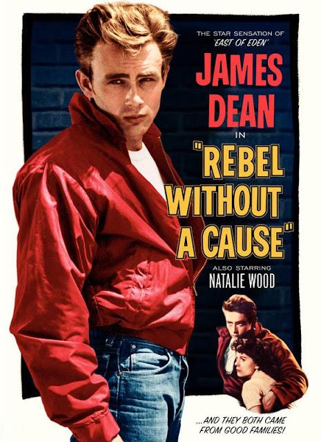 Póster película Rebelde sin causa