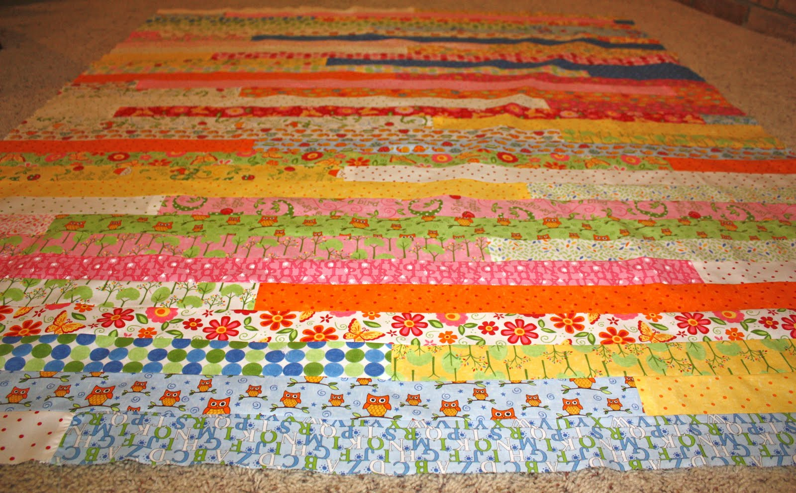 Etifani Like An Epiphany Only Not Jelly Roll Race Quilt
