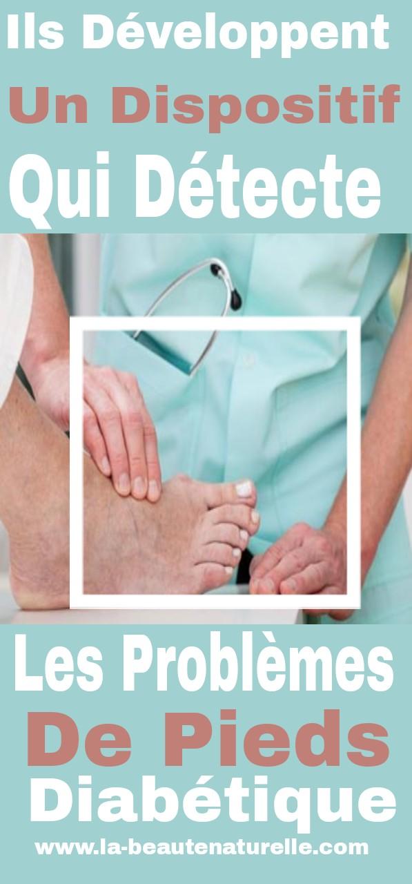 Ils développent un dispositif qui détecte les problèmes de pieds diabétique