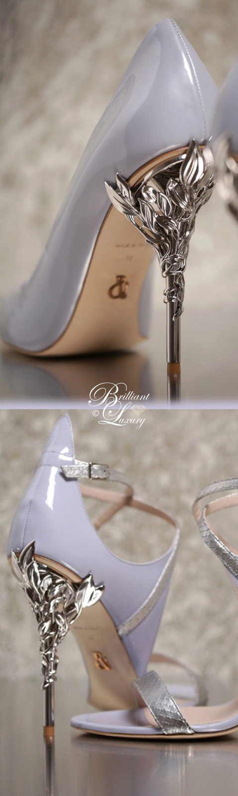 Brilliant Luxury ♦ Ralph and Russo Eden Eve Pump and Sandal