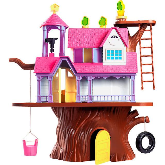A Casa na Árvore da Homeplay é ideal para sua filha Colorida e espaçosa ela vai conquistar a atenção das pequenas