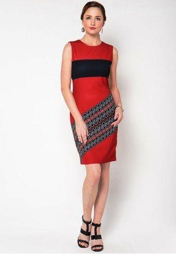 Model Baju Batik Wanita Modern Trendy