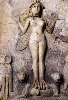 "Ishtar or ""Lilith"" in Axis Mudra"