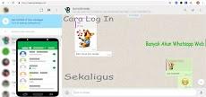 Cara Log In (Masuk) dan Menggunakan Beberapa Akun WhatsApp Sekaligus di Komputer