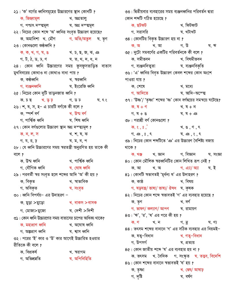 Bcs Written Syllabus Pdf