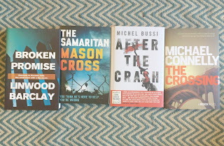 Linwood Barclay, Mason Cross, Michael Dussi, Michael Conelly