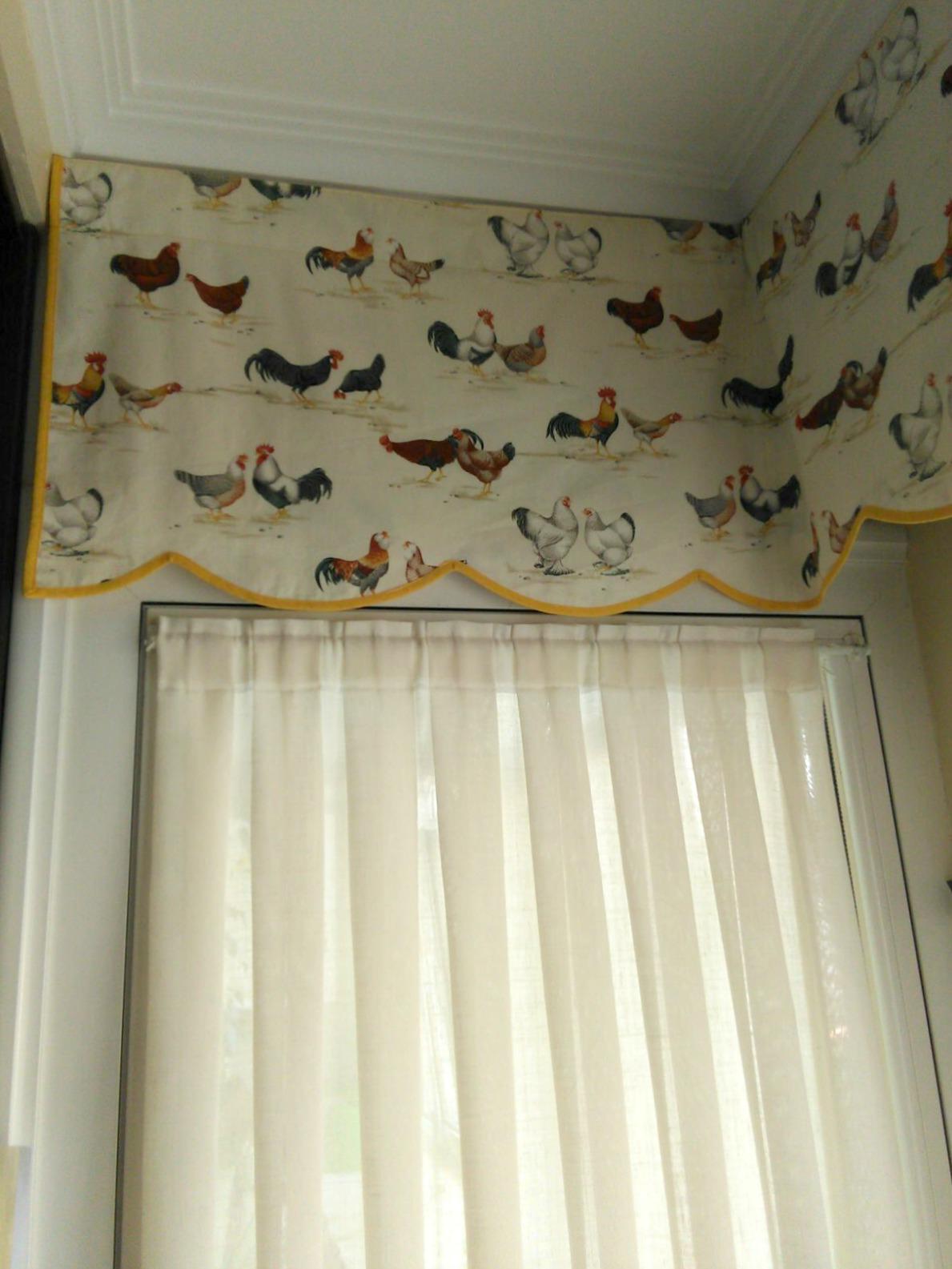 Gu a de cortinas estores enrollables para tu cocina - Estores con bando ...