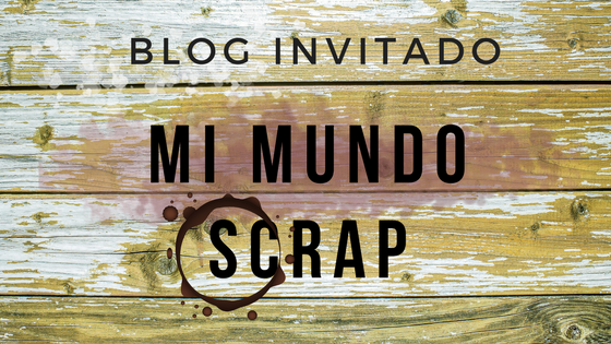 Cartel moderno blog invitado: Mi Mundo Scrap.