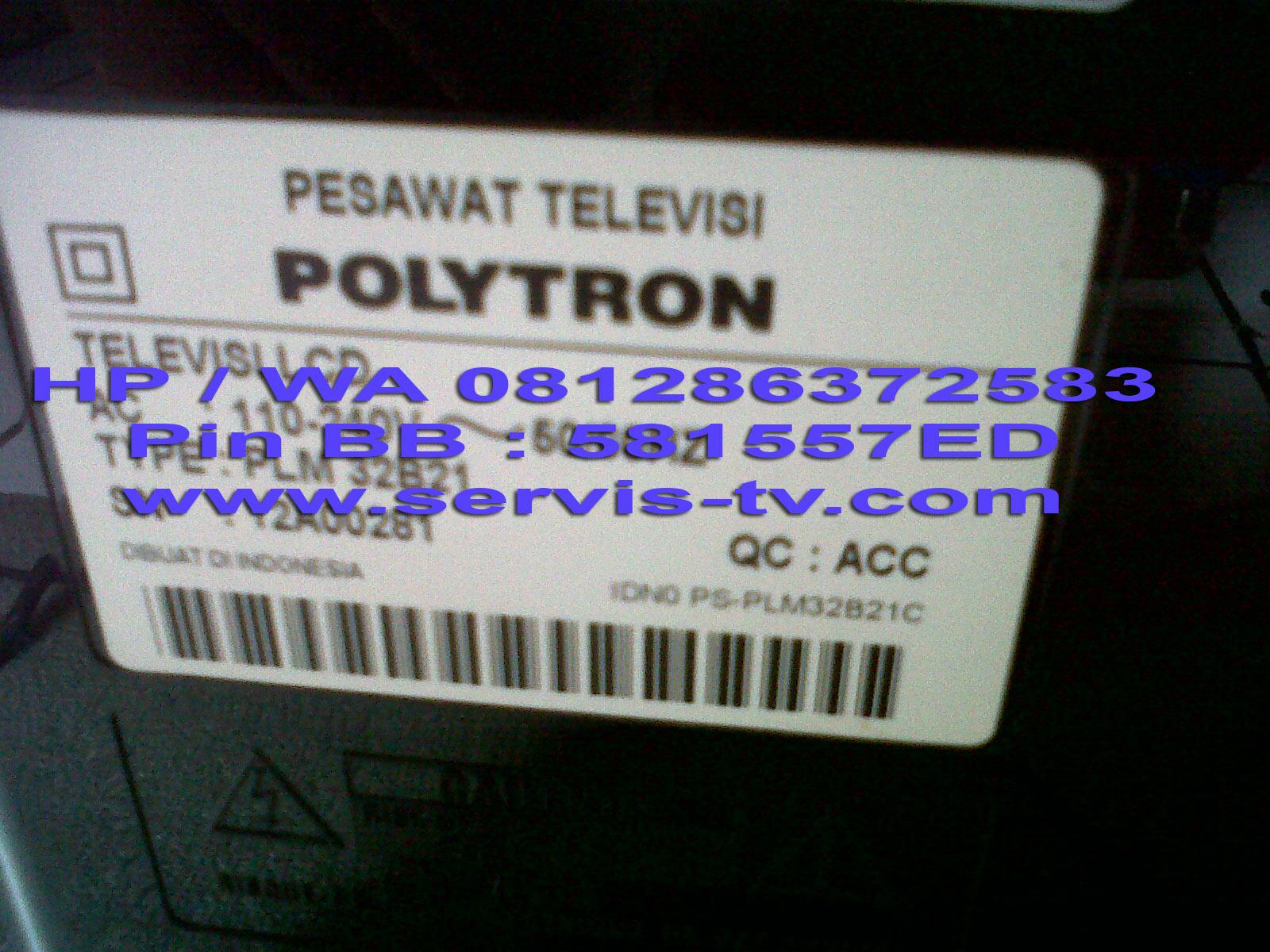 Service Perbaikan Polytron PLD32T700