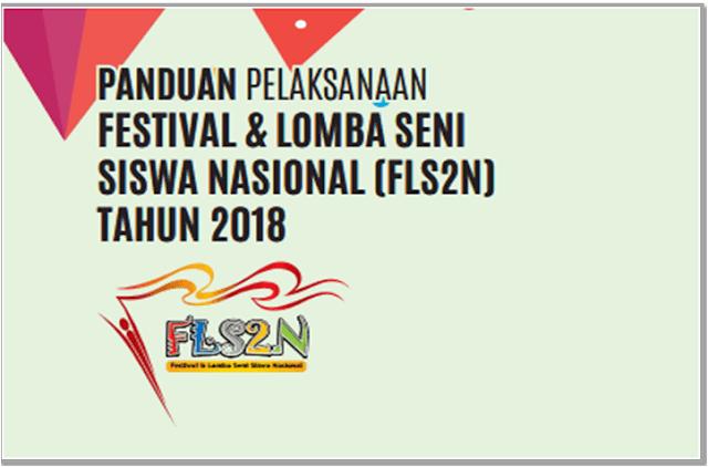 Download Panduan Pelaksanaan FLS2N SMA Tahun 2018