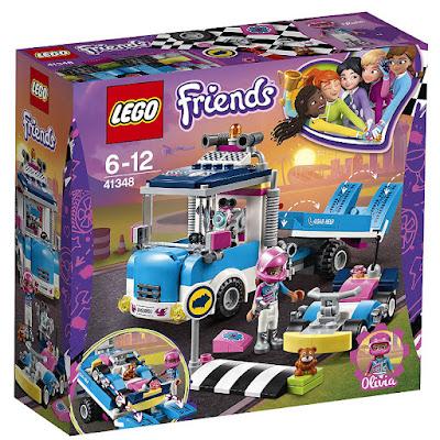 TOYS - LEGO Friends 41348 Camión de asistencia y mantenimiento  COMPRAR ESTE JUGUETE