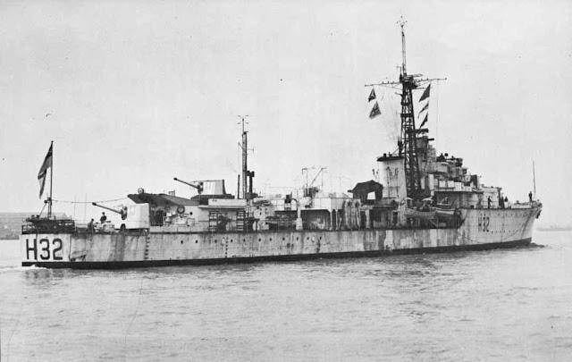 HMS Rapid (H32) 16 June 1941 worldwartwo.filminspector.com