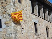 De vlag van Catalonië
