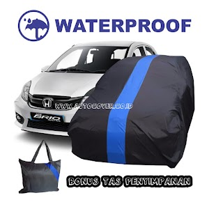 Cover Mobil Outdoor Brio Corak Biru