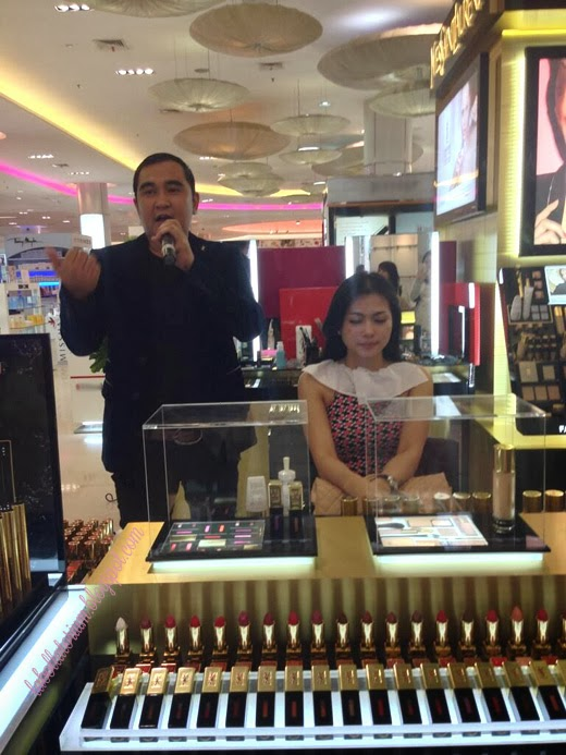 Beauty Event - Romancing with YSL (Yves Saint Laurent) Gusnaldi