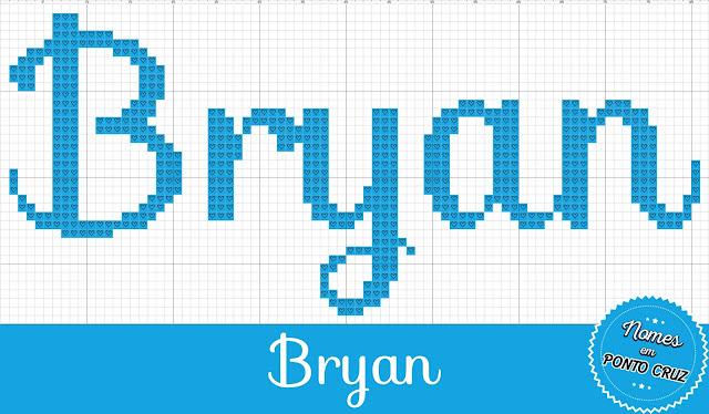 Nome Bryan em Ponto Cruz
