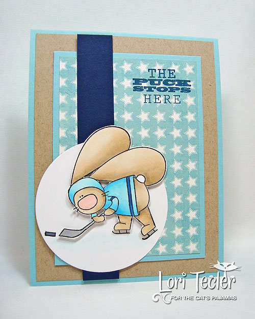 The Puck Stops Here-designed by Lori Tecler/Inking Aloud-stamps from The Cat's Pajamas