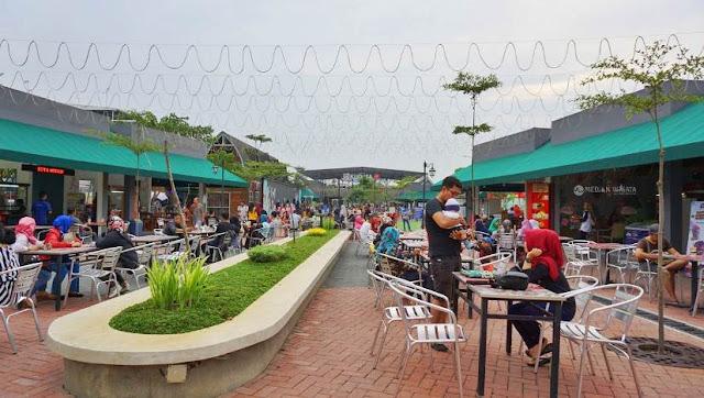 J Walk J-City Pusat Kuliner Terbaru dan Kekinian di Kota Medan