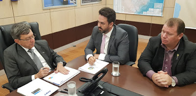 Dr. Neidson se reúne com diretoria do Dnit em Brasília para discutir ações em Rondônia