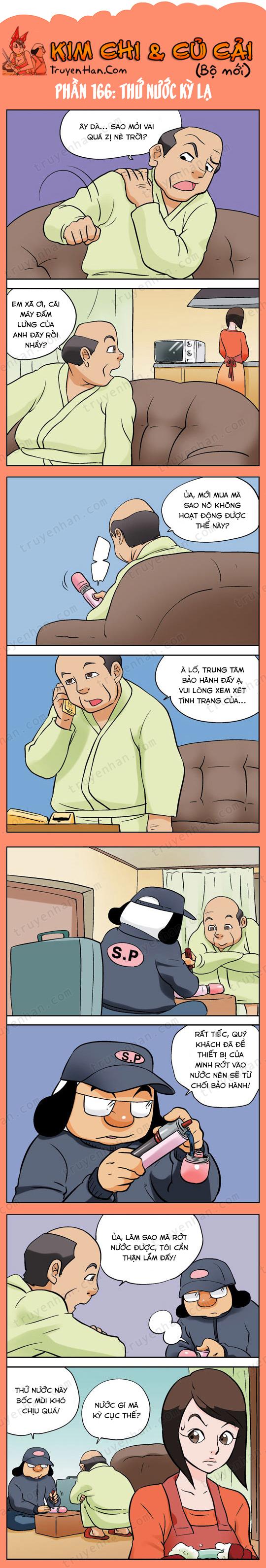 Kim Chi & Củ Cải (bộ mới) phần 166: Thứ nước kỳ lạ
