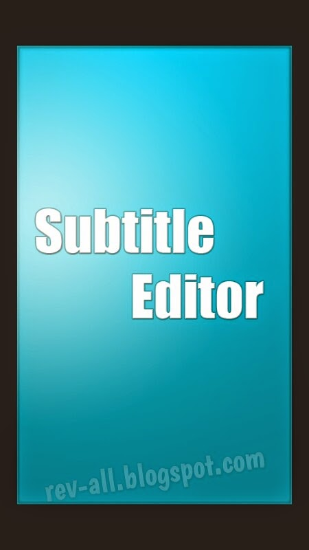 Subtitle maker android sdk