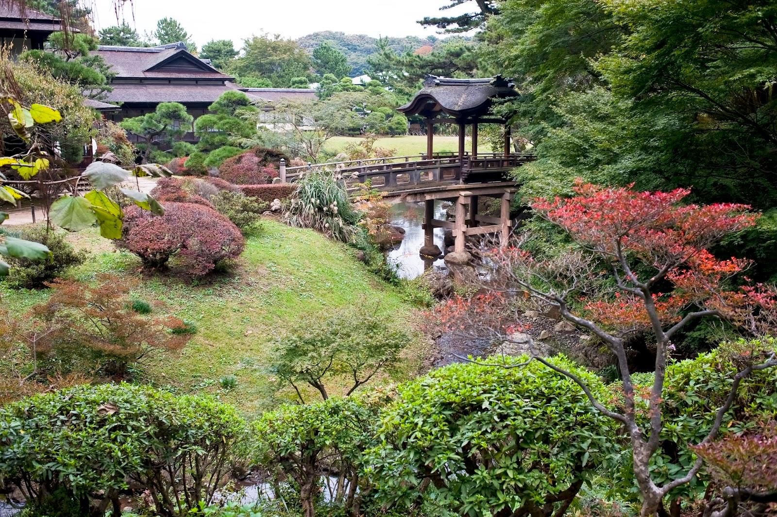 أجمل عشرة حدائق في اليابان اليابان