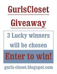@6 july: GurlsCloset Giveaway