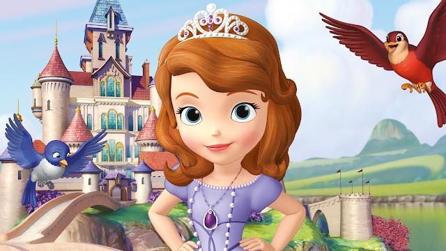 sofia é uma princesa altruista, linda e fofa