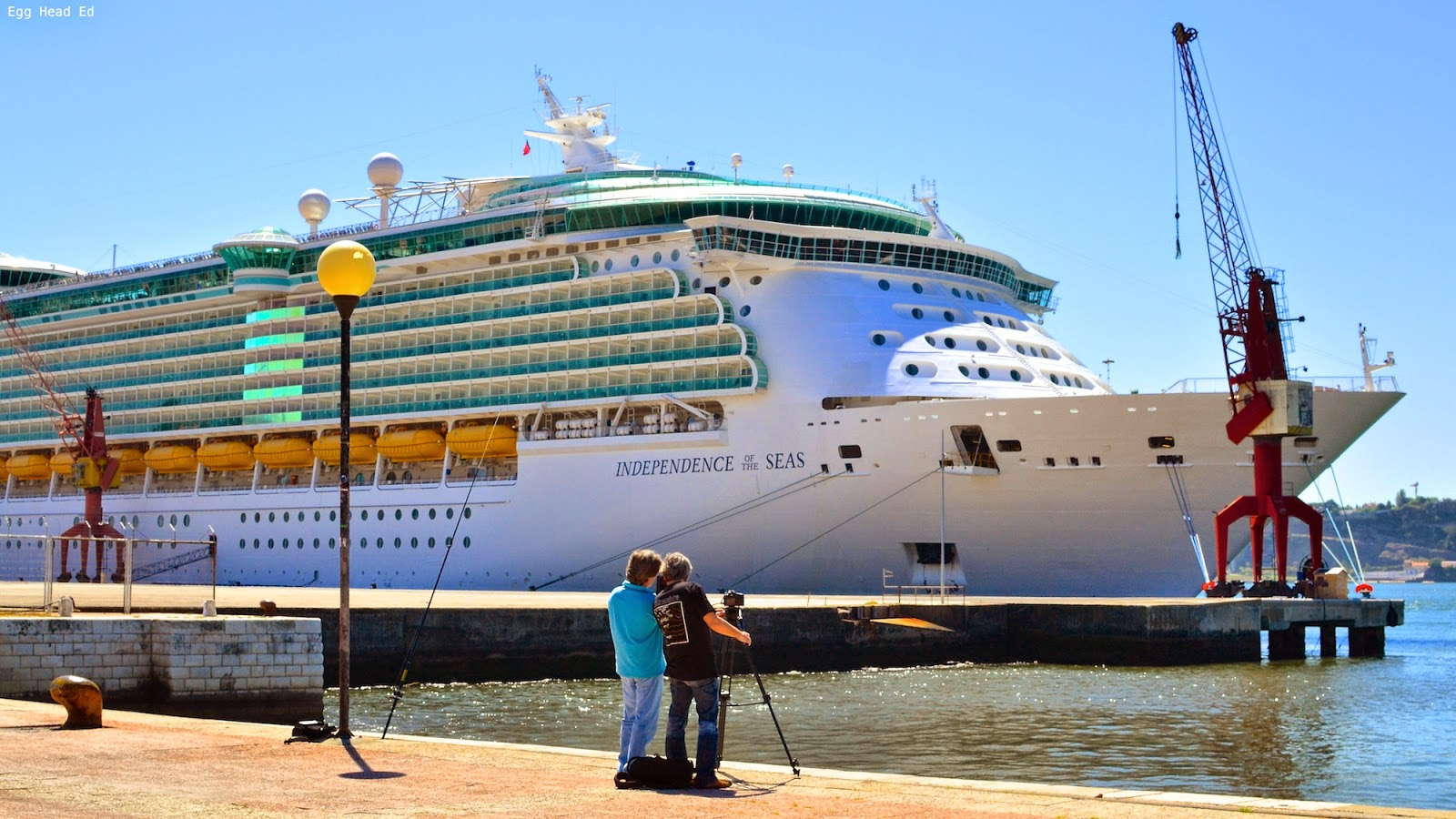 Independence of the Seas in Lisbon Portugal