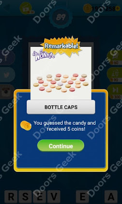 Answers, Cheats, Solutions for Guess the Candy Level 89 for android and iphone
