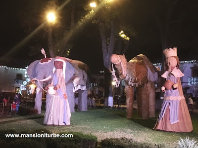 Reyes Magos en el Nacimiento Monumental de Pátzcuaro