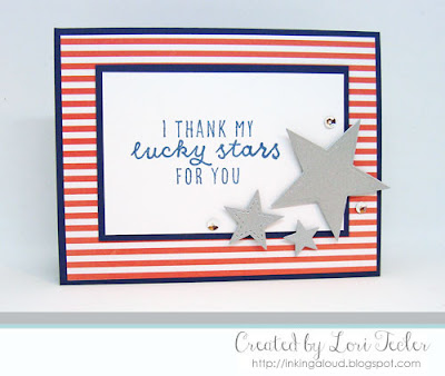I Thank My Lucky Stars for You card-designed by Lori Tecler/Inking Aloud-stamps and dies from Reverse Confetti