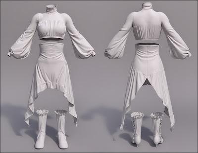 Marionette for Genesis 3 Female