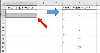 Tips dan Trik Excel Cara Entri Data dengan Cepat