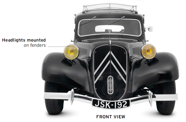 Citroën Traction Avant, classic cars