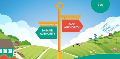 ما هو الفرق بين page authority و domain authority