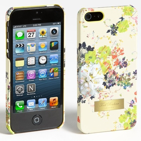 Fashion Iphone 5 Case Golden Label On The Ted Baker Iphone 5 Case