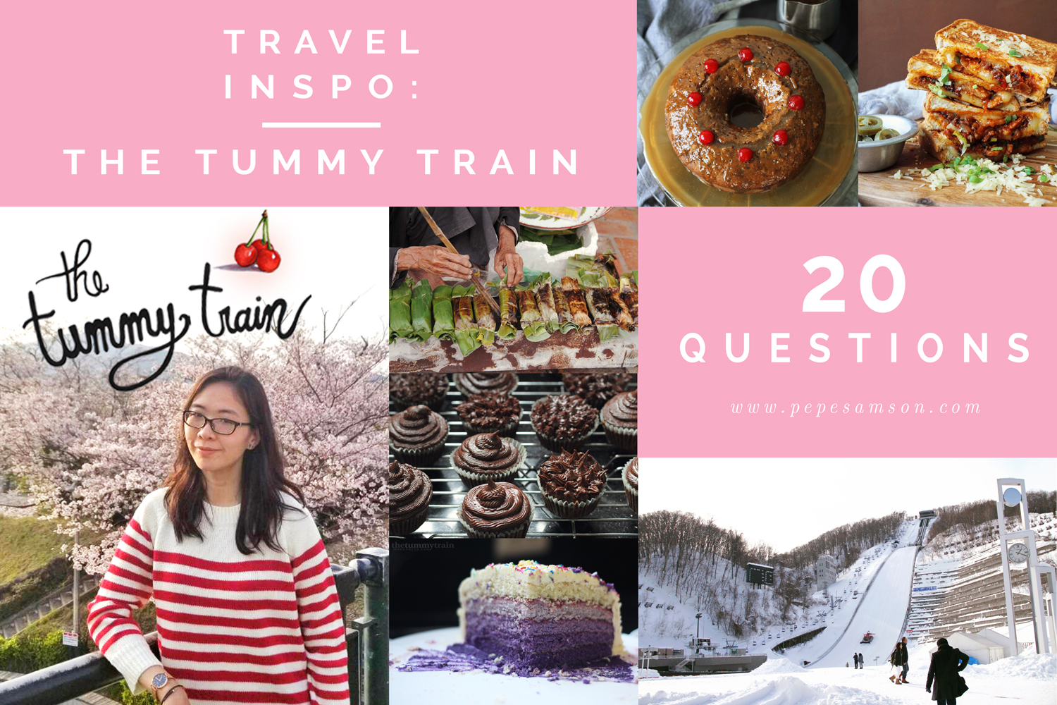 TRAVEL INSPO | 20 Questions with The Tummy Train