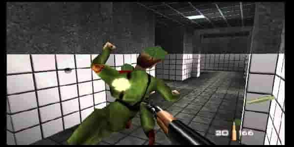 descarga el rom de 007 GoldenEye en Español Nintendo 64 haciendo clic aqui