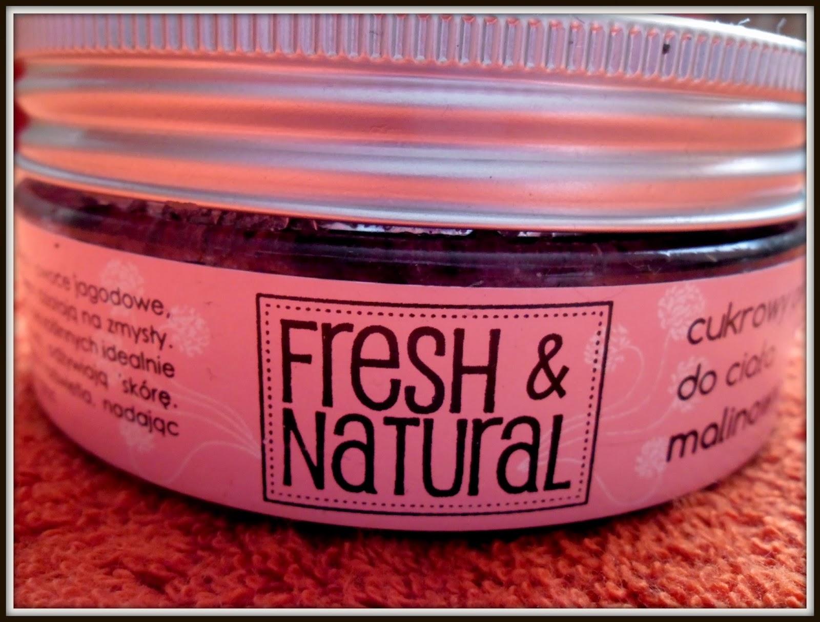 Odżywienie i oczyszczenie z peelingiem cukrowym Fresh&Natural - zapraszam na recenzję