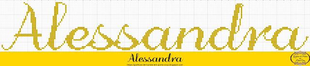 Nome Alessandra em Ponto Cruz