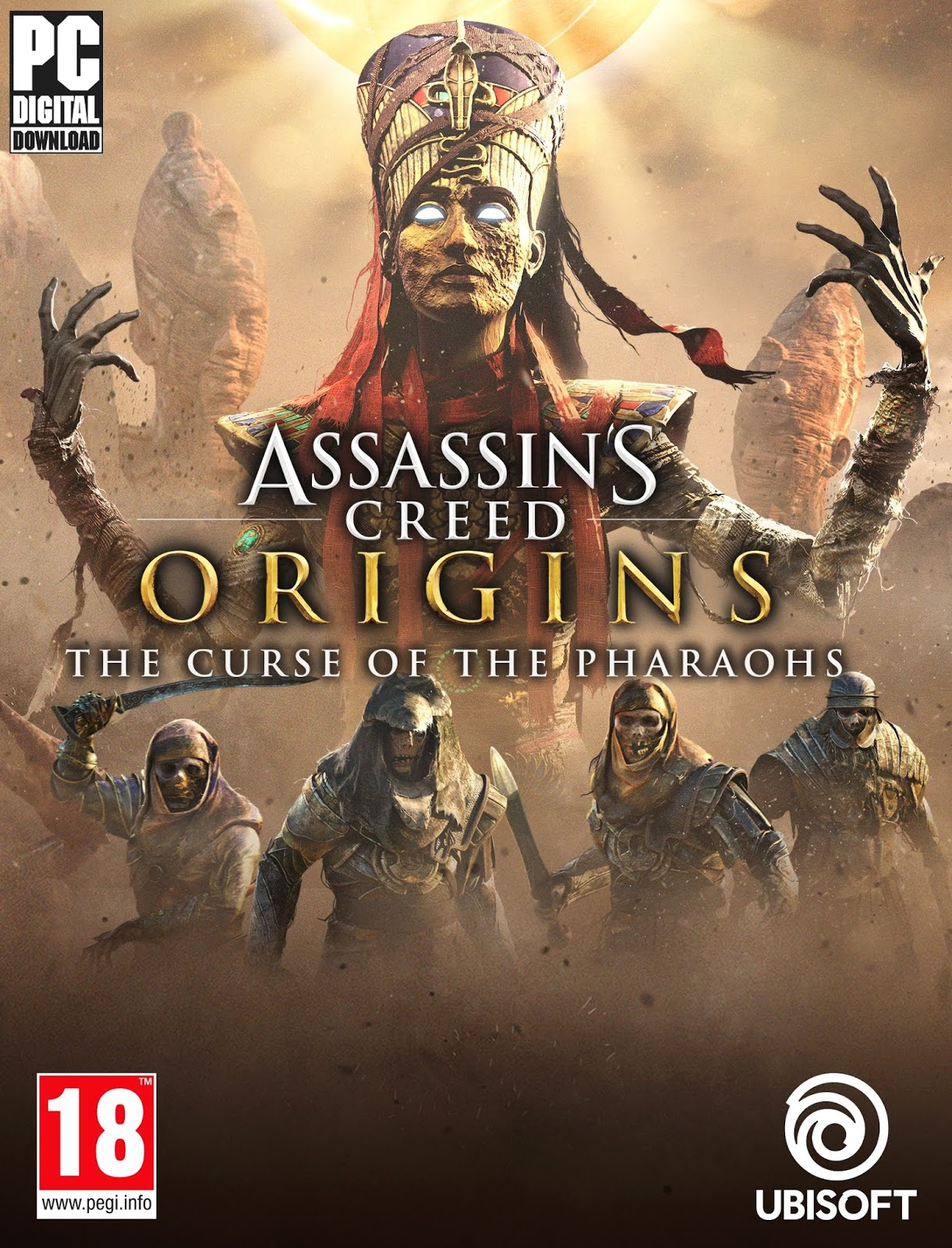 Descargar Assassins Creed Origins PC Cover Caratula