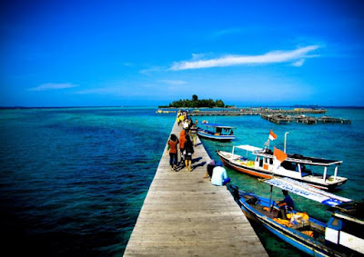 keindahan pulau tidung, wisata pulau tidung terbaru 2017