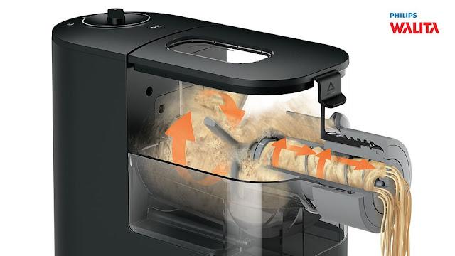 máquina-macarrao-fresco-philips-walita-viva-pasta-maker