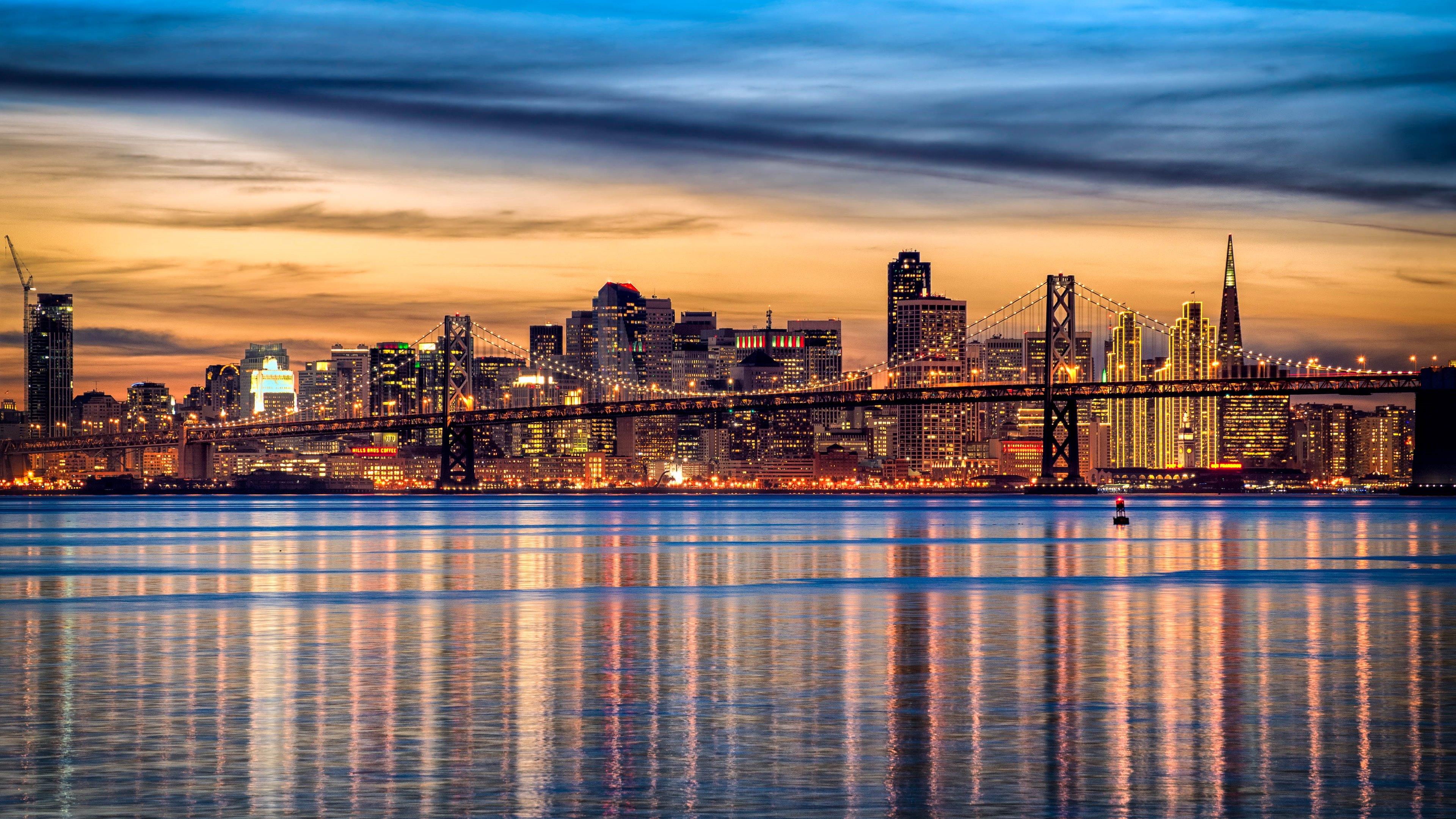 San Francisco Skyline wallpaper.