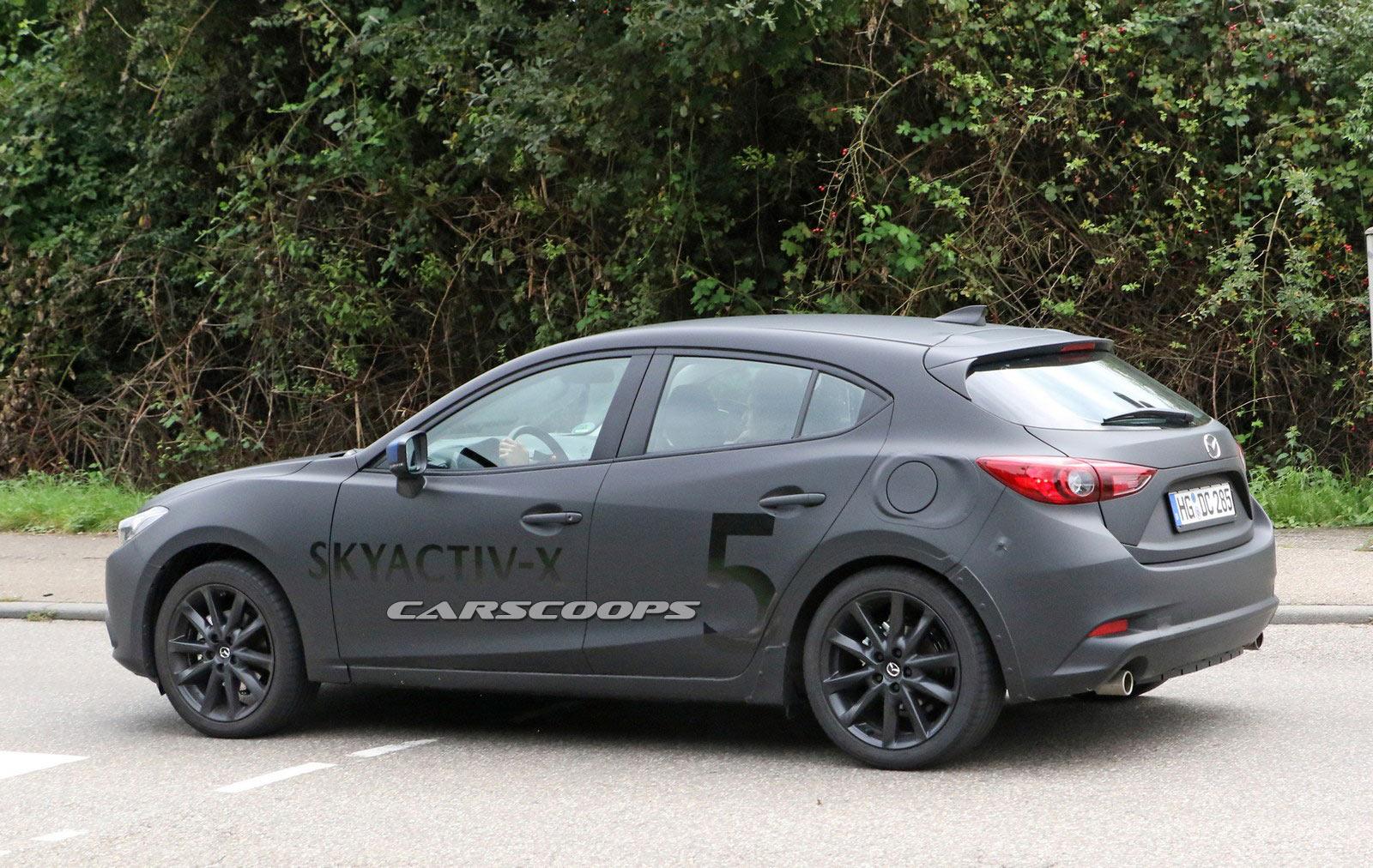 Elantra Interior 2017 >> New Mazda3 Prototype Spied With A Skyactiv-X Engine | Carscoops