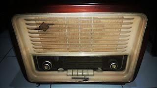 LAPAK BARANG ANTIK: Jual Radio Antik Telefunken D666WK - KLATEN